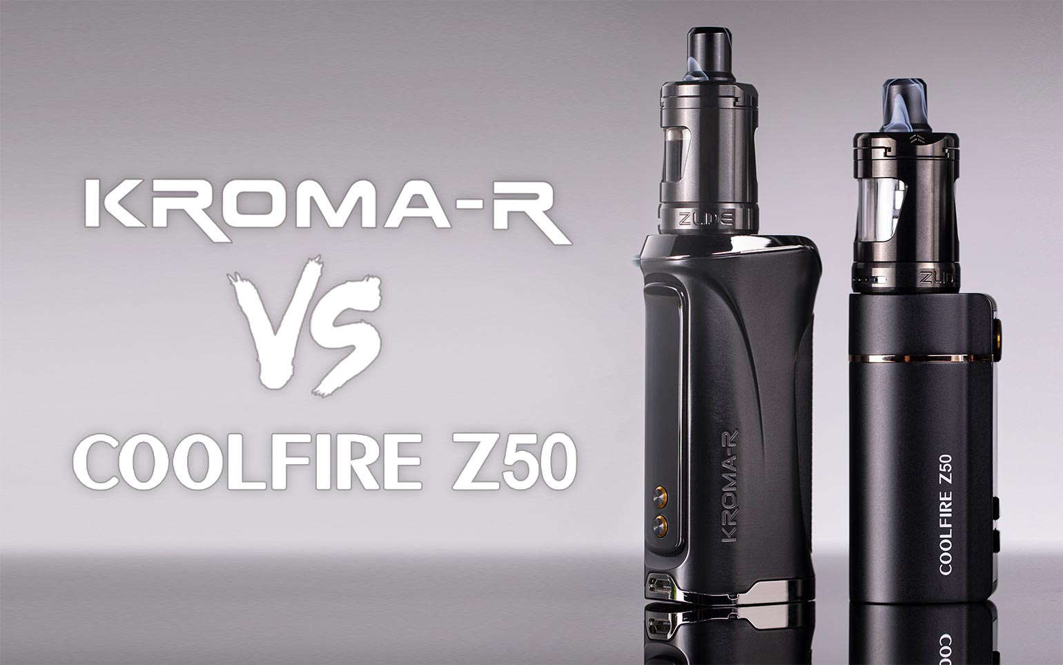 Coolfire Z50 vs. Kroma-R: What is the difference?
