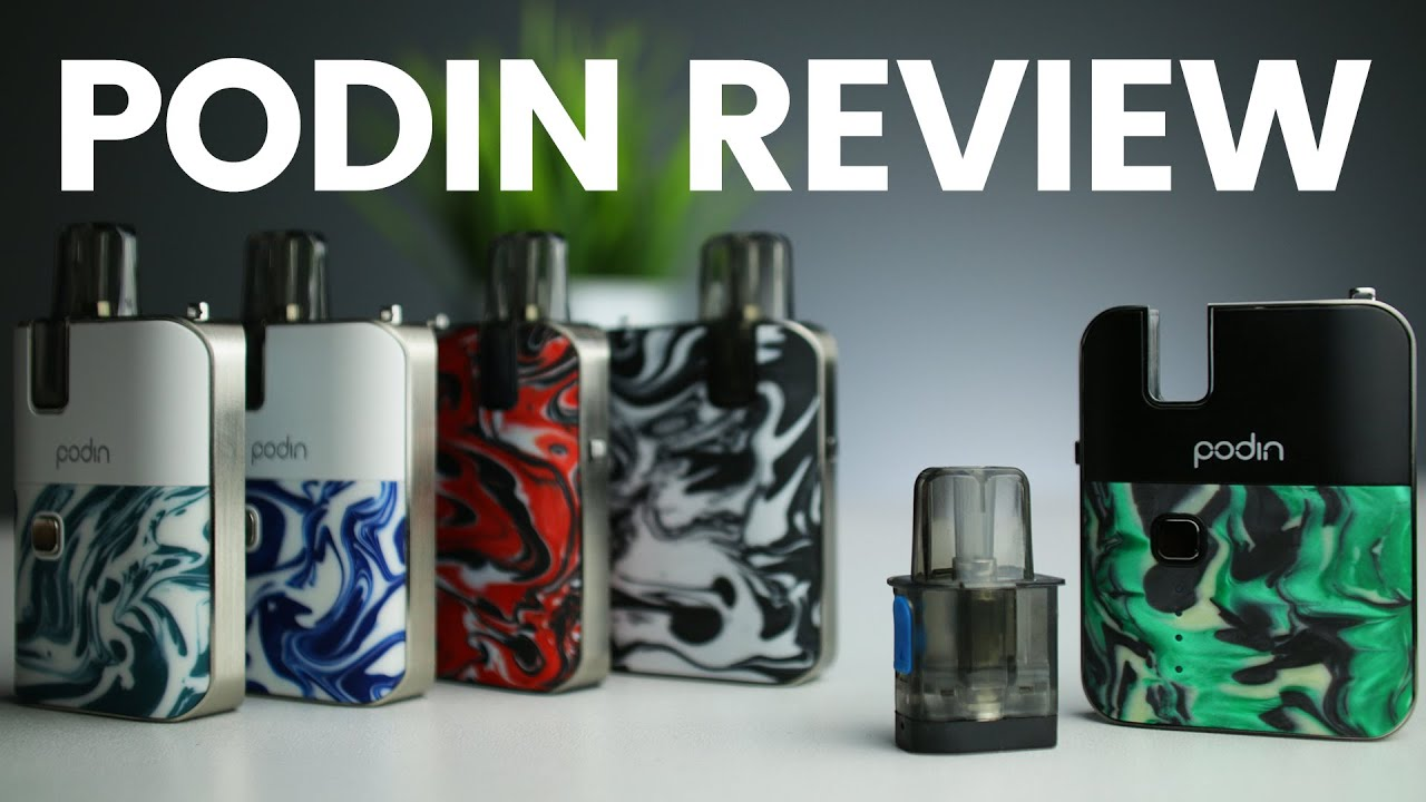 Unboxing & Review - All you want to know about the Innokin Podin!