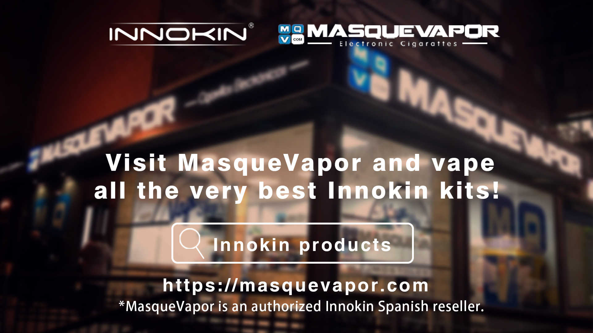 Masquevapor & Innokin in a strong partnership from November 2019