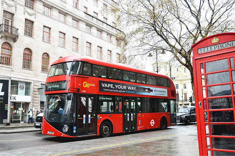 Catch the Innokin Endura T18 II Bus in the UK this VApril