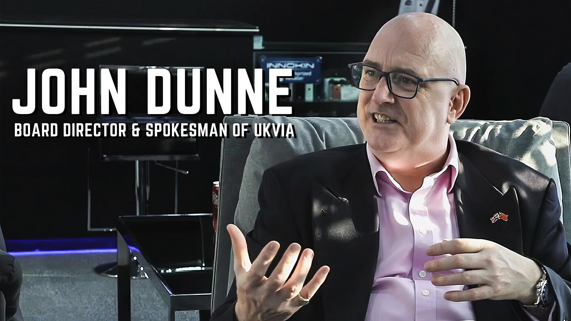 Mr. John Dunne from UKVIA Visited Innokin headquarter in Shenzhen