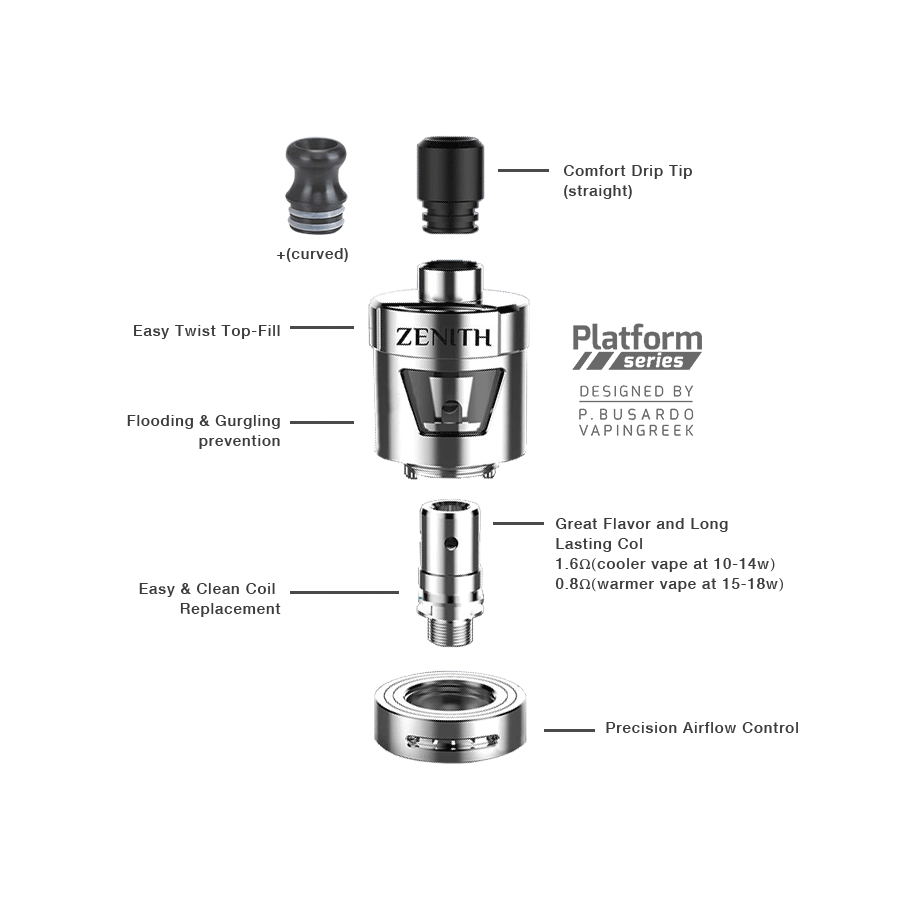 Easy to Use MTL Atomizer