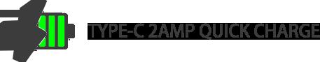 TYPE-C 2Amp Quick Charge