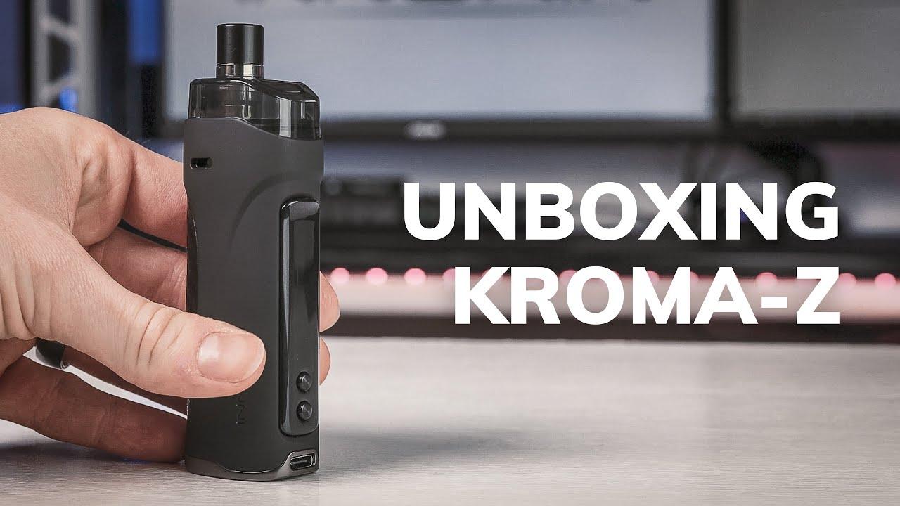 Unbox & Review: Innokin Kroma Z 40W MTL & RDL Pod Mod Vape Kit